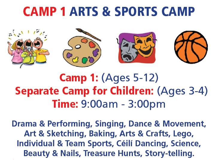 camp1 Arts& Sports camp