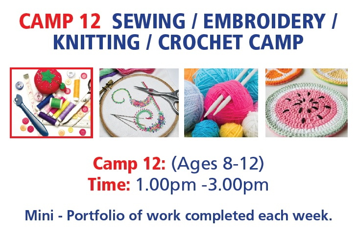 camp12 Sewing camp