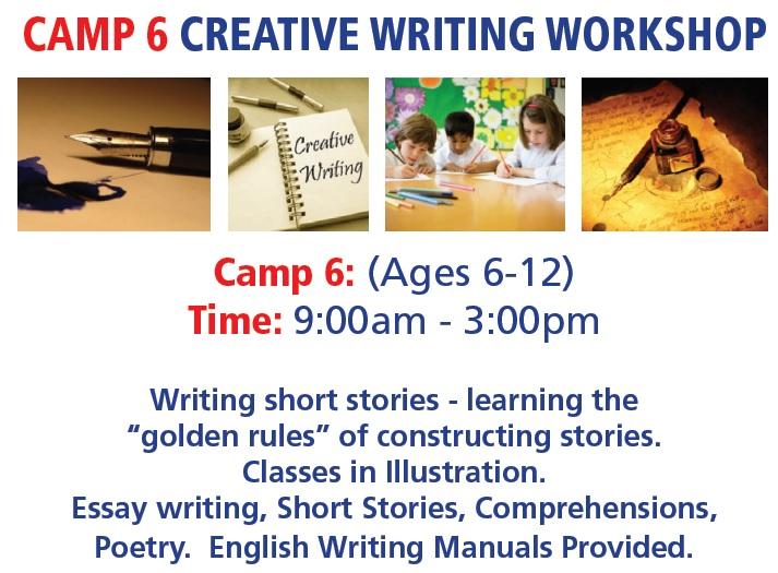 camp6 Creative Writing workshop