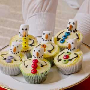 14 – Frosty's Chocolate Snowman Cupcakes