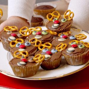 15 – Reindeer Cupcakes