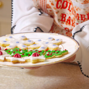 6 – Blitzen's Christmas Shortbread Cookies