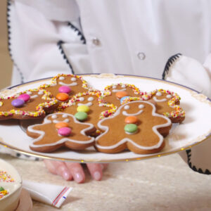 8 – Prancer's Gingerbread People